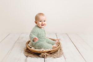 baby boy at Huntingdon baby photography